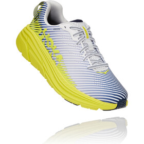 Hoka One One Rincon 2 Running Shoes Men blanc de blanc/citrus